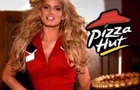 pizza hut cheesy bites public relations
