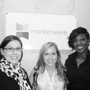 Please join us in welcoming Nancy (left), Bailey (center) and Brandi (right) to the Marketwave team!
