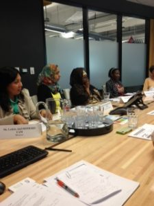 The round table included women from many industries and backgrounds.