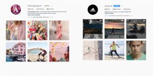 consistent, themes, filters, social, media, brand, social media design,